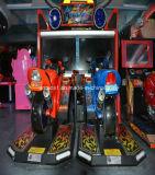 Популярная машина игры мотора тренажера гонки мотоцикла пламени