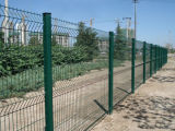庭および家のためのPVCによって電流を通される溶接された網の塀