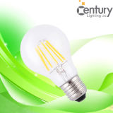 Ampoule commerciale et résidentielle de filament de Dimmable 3W 4W 6W 8W E26/E27/B22 de lampe globale de lumière de l'éclairage LED de filament de l'ampoule LED