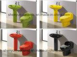 세라믹 한 조각 화장실 Siphonic 내뿜는 결박 대중적인 작풍 (A-010)