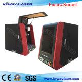 Fasergalvo-Laser-Markierungs-System mit Schutz-Deckel
