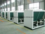 Refrigeratore del sistema di raffreddamento dell'aria con il serbatoio di acqua