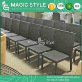 Dining esterno Set con Special Weaving Modern Rattan Dining Set per Eight Persons (Magic Style)