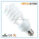 lampada economizzatrice d'energia a spirale mezza del Tri-Fosforo T4 di 24W 12mm