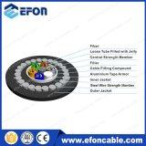 Cable óptico de la fibra acorazada directa del entierro de 144 bases
