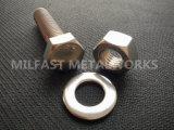 GR штанги ASTM A193 продетые нитку B8 с нержавеющей сталью GR 8 ASTM A194