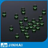 (t) bola de cristal verde de la alta calidad del fabricante de 5m m para la decoración