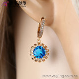 28367 Fashion 최신 Luxury Female 18k 금 Plated Zircon Jewelry Earring