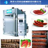 Máquina de fumo do forno da salsicha de Turquia da galinha