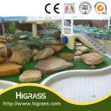 Herbe artificielle d'horizontal pour l'usage de Comercial