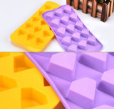 Торт украшая поднос прессформы шоколада силикона диаманта инструментов