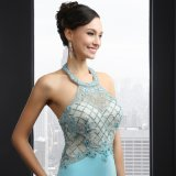 Hater Sleeveless Backless Evening Dress (SL10904)