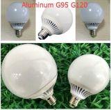 Luz de bulbo de aluminio de B22 E27 24W G120 LED