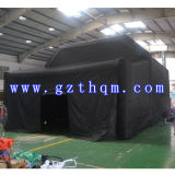 Tente gonflable noire d'Oxford grande/tente gonflable