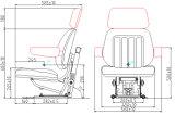 Massey Ferguson Tractores de recambio Asiento del tractor con amortiguador (YY4)