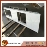 Nano bianco Crystallized Glass Countertop per Kitchen Furniture