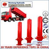 Tipo cilindro de Hyva de /Hydraulic para o cilindro do caminhão da derrubada/de despejo
