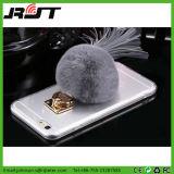 Acrílico do espaço livre com a caixa distorcido do telefone da esfera para o iPhone 6