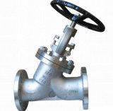 Válvula de engranaje helicoidal de acero forjado
