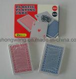 Tarjeta de juego doble de póker de la tarjeta que juega del paquete, juego de mesa