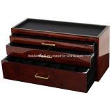 caixa do relógio 5-Compartment & de armazenamento dos acessórios