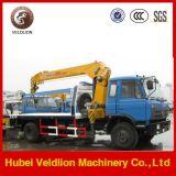 Camion di Wrecker di rimorchio di Dongfeng con la gru 8 tonnellate