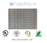 Witte PCB van de Kleur voor leiden met het Aluminium van Pi