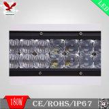 barre d'éclairage LED de barre d'éclairage LED de 5D 31.5inch 180W pour tous terrains