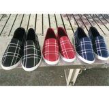 Schuh-Einspritzung-Segeltuch-Schuh-Freizeit-Schuhe der heißesten preiswerten Männer (PY722)