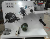 Two Rewinding Shafts (320)のラベルSlitting Machine