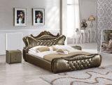 Het moderne Meubilair van de Slaapkamer, het Italiaanse Beklede Bed van het Leer van het Ontwerp Pu Bed