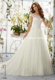 Втулки крышки Tulle сатинировки шнурка Mori Lee Morilee с платья венчания плеча (Dream-100058)