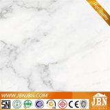 Azulejo blanco del mármol del suelo de la porcelana de Carrara (JM6646G)