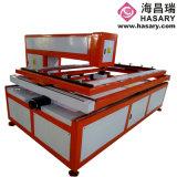 Máquina cortada con tintas laser acanalada de la caja