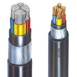 0.6/1kv Type milivolt PVC/Swa/PVC 2.5mm 4 Core Copper Power Cable com Armored
