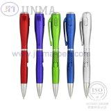 Le stylo bille populaire de promotion Jm-D01p avec une lumière
