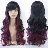 Parrucche lunghe femminili di Lolita delle parrucche dei capelli di pendenza del Anime di Cosplay