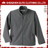灰色のウインドブレイカーのSoftshellのジャケットの製造者