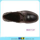 Голубые кожаный ботинки шлюпки