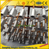 China Aluminium-CNC-Präzisions-maschinell bearbeitenteile für Dekoration und Aufbau