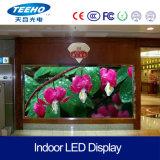 Pantalla de visualización video de interior de LED de la pared del RGB de la alta calidad de P3 1/16s