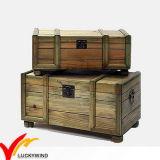 Tronco de madeira Handmade da reprodução da antiguidade do armazenamento