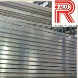 Profil anodisé par Champagne en aluminium/en aluminium d'extrusion pour le guichet et la porte