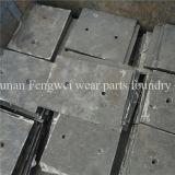 Altas piezas de la trituradora de rodillo del molino de la explotación minera del acero de manganeso del cromo