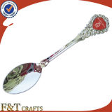 Ricordo Cast Iron Metal Nickel Plated Spoon con Custom Logo (FTSS2925A)