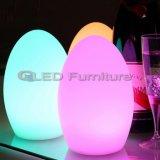 다색 Chaning LED 테이블 램프 빛을내는 정취 빛
