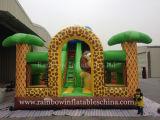 Aufblasbares Zoo-Thema-kombinierter Vergnügungspark für Kinder