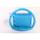 Het draagbare Handbediende Geval van het Stuurwiel van de Jonge geitjes van EVA voor Tablet/iPad Mini