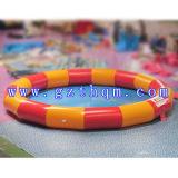 Equipamentos infláveis redondos do jogo da água da associação/piscina quadrada inflável para miúdos