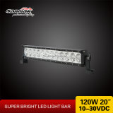 120W scelgono l'indicatore luminoso fuori strada dell'automobile di barra chiara di riga LED